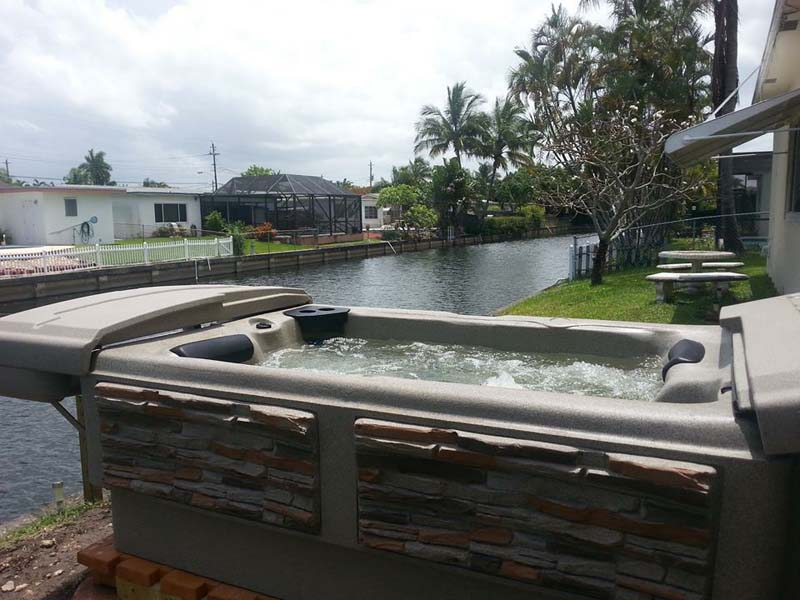 outdoor hot tub models and prices