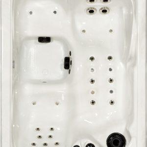2 people hot tub spa