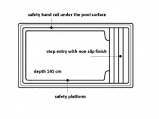 hot tub spa dimensions